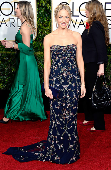 Joanne Froggatt in Marchesa
