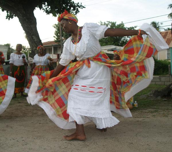 Big Drum Dancing Belair, Carriacou, Grenada. W. I.