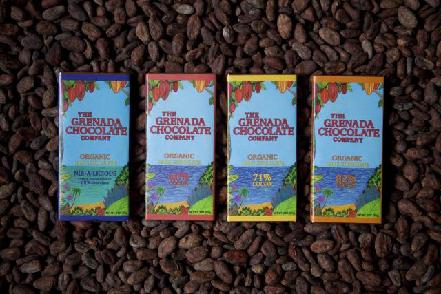 Organic Grenadian Chocolate Photo credit:Grenada Board of Tourism