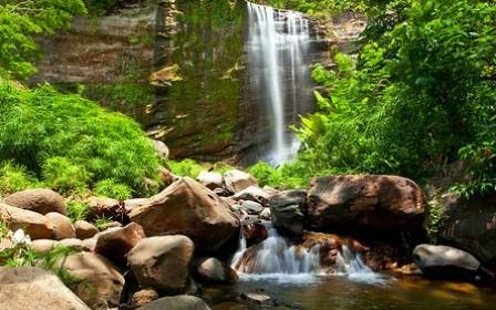 Mt. Carmel Waterfall, st. Andrew's Grenada.W.I.
