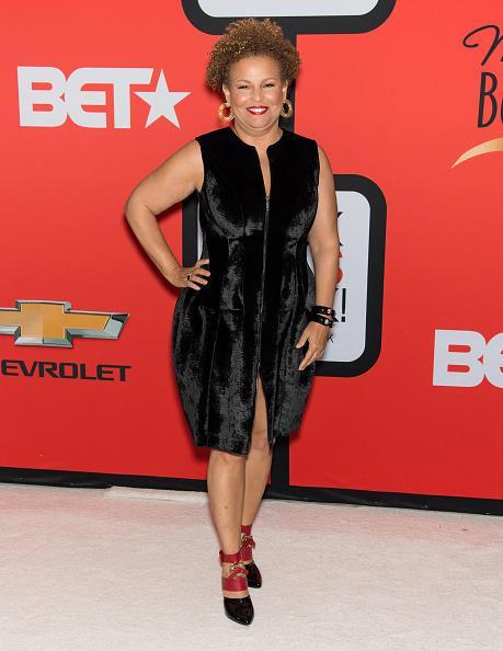 CEO of BET Network Debra Lee on the Black Girls Rock red carpet