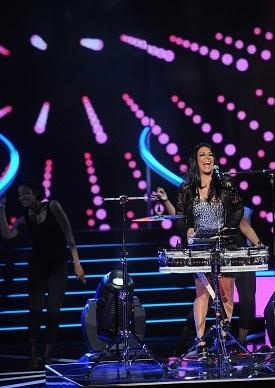 Sheila E opening the 2015 Black Girls Rock Awards