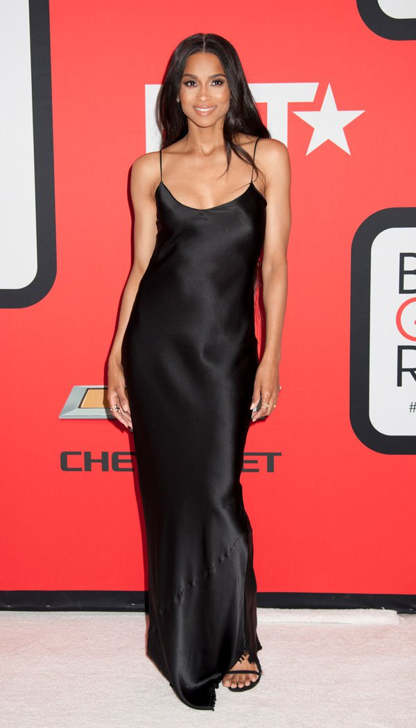 Ciara on the Black Girls Rock red carpet - one of the evenings perfomers