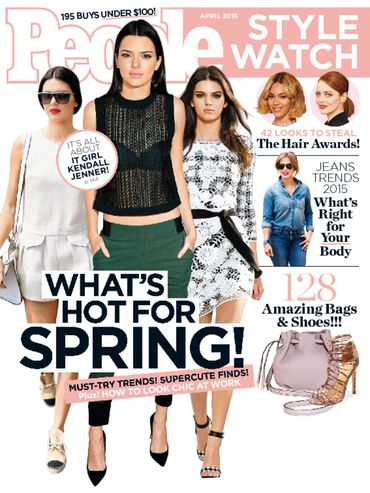 Kendall Jenner People Style Watch Magazine's April 2015 cover girl