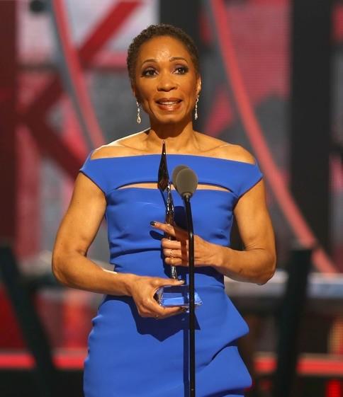 Dr. Helene D. Gayle the 2015 Black Girls Rock Social Humanitarian award winner