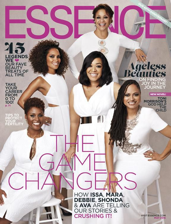 Essence Magazine's Ladies of Film May 2015 Cover