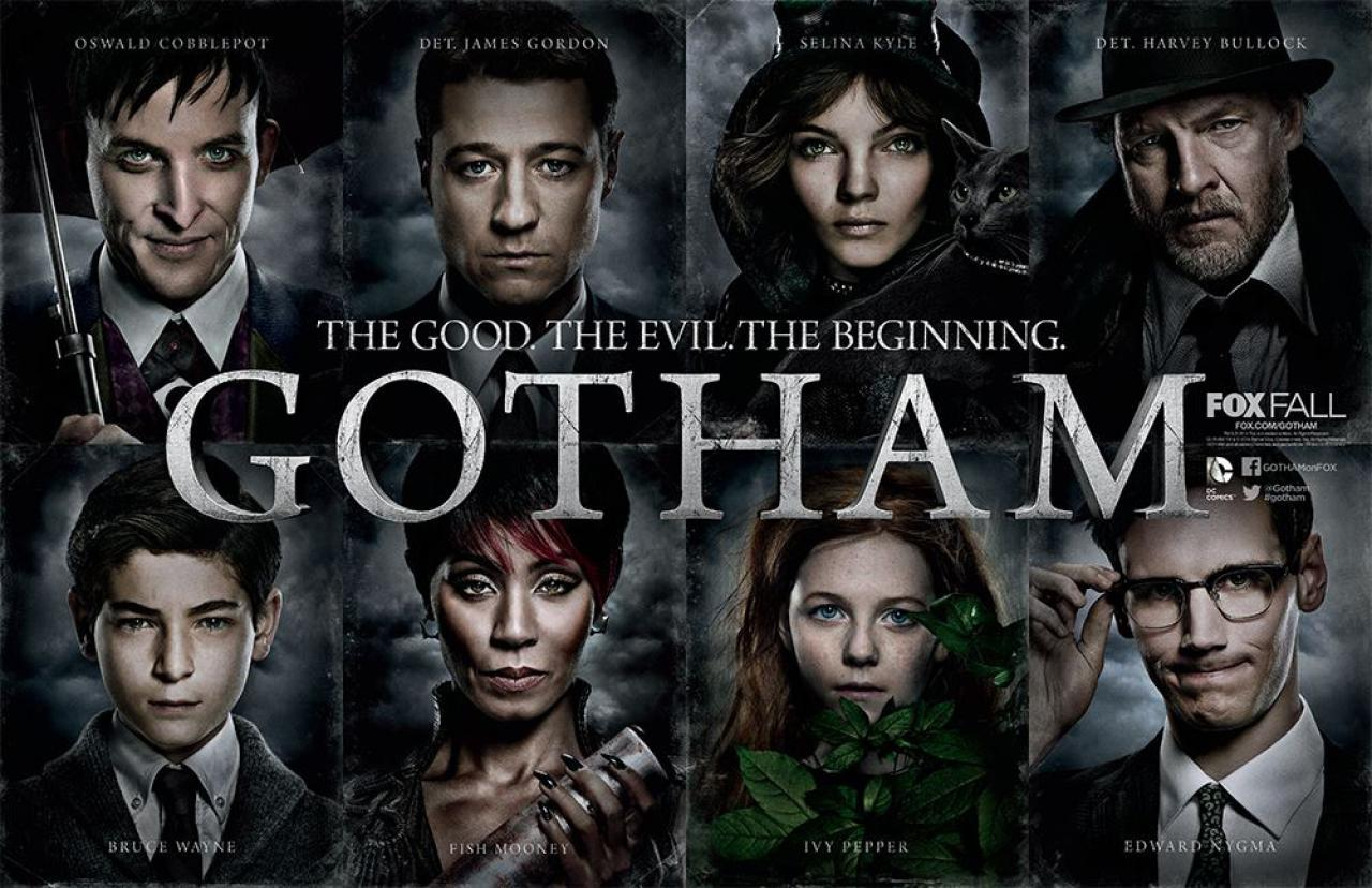 Fox's Gotham Season 1 Poster
