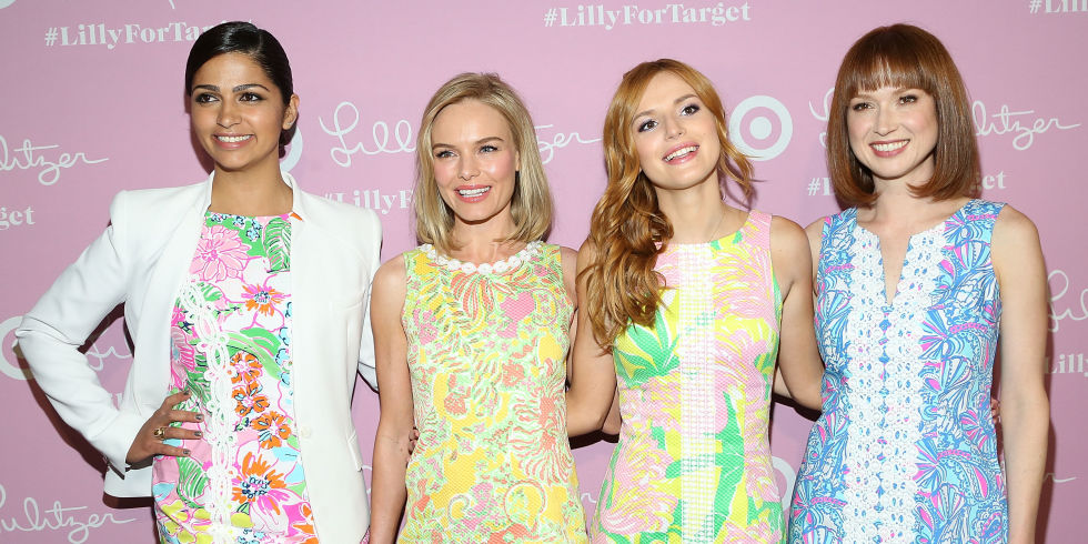Camilla Alves, Kate Bosworth, Bella Thorne and Ellie Kemper at the Lily Pulitzer for Target Launch Party