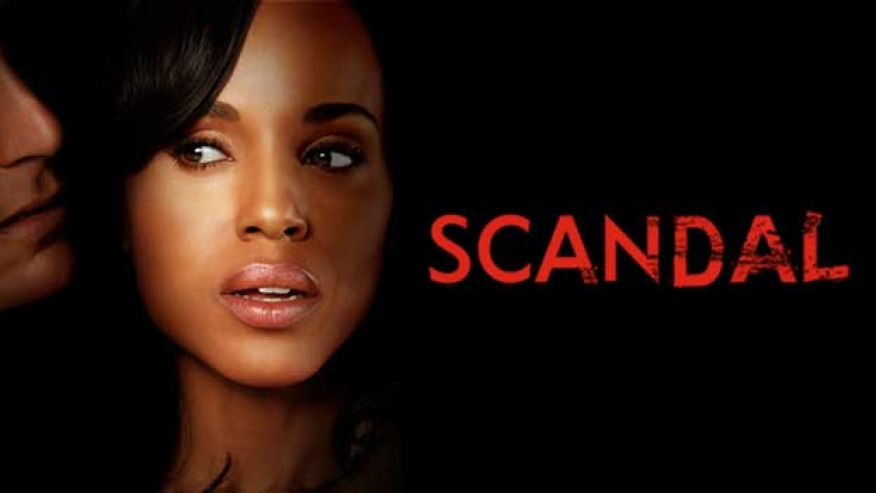 Scandal Promotional Poster