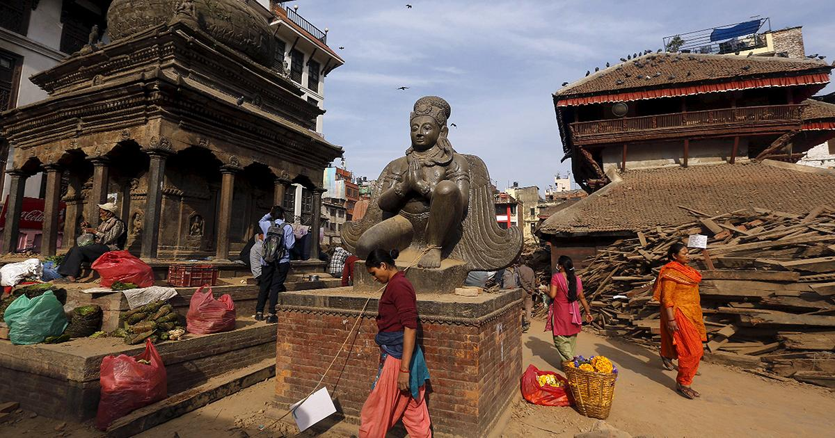 Nepal vows to rebuild and reopen historic sites