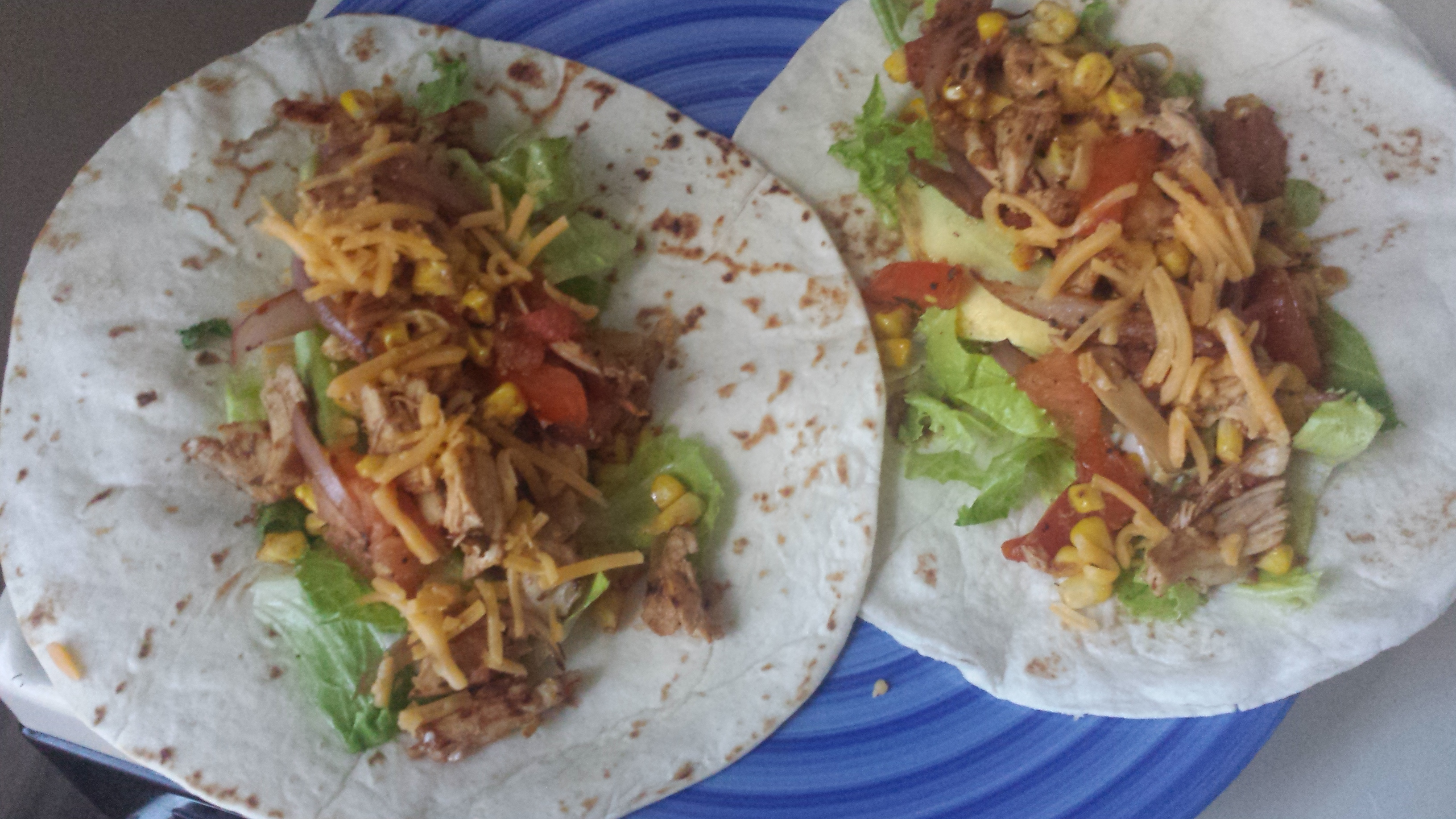 Lunch/Dinner CaliMex wraps