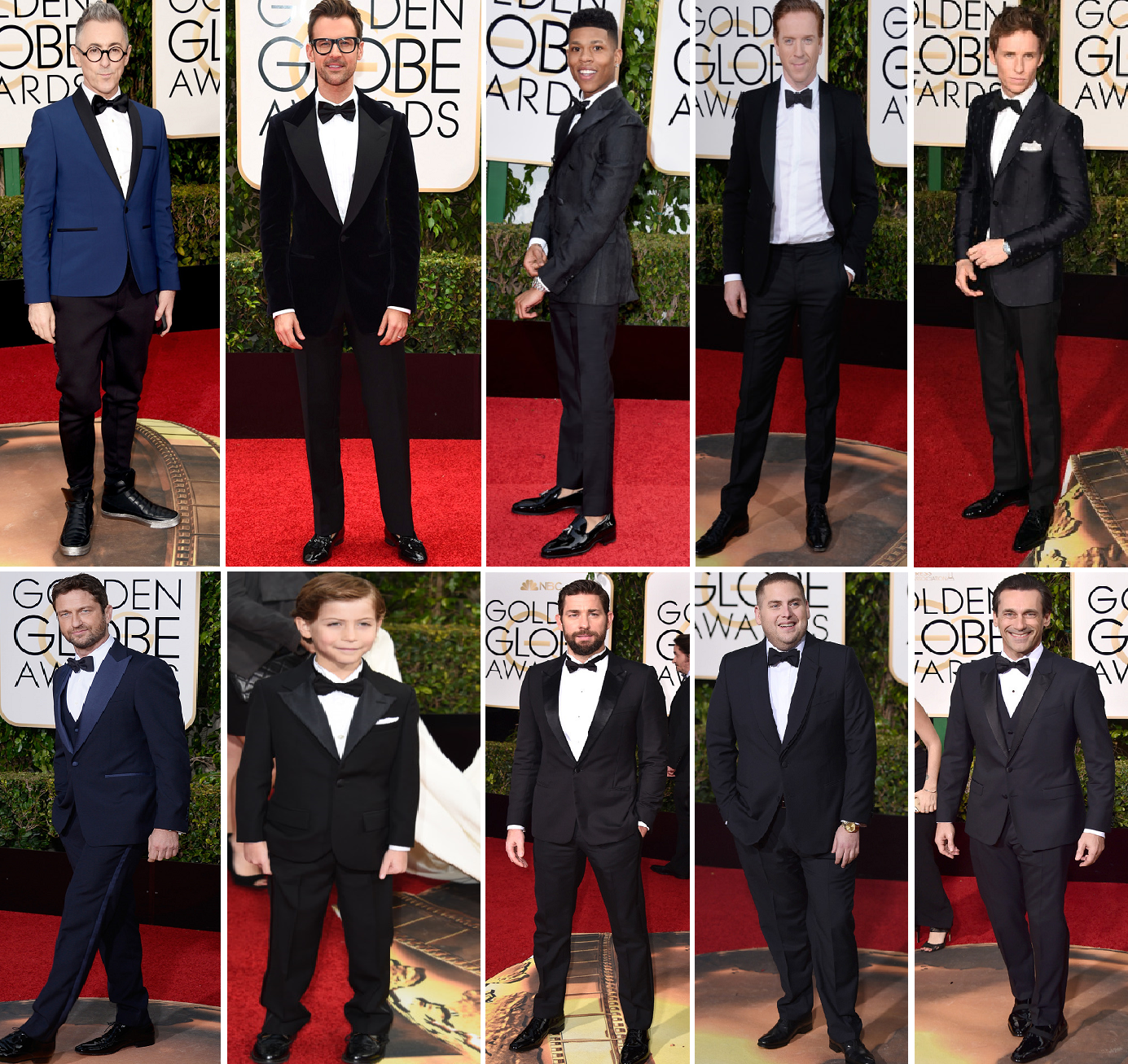 Alan Cumming, Brad Goreski, Empire's Bryshere Y. Gray, Damian Lewis, Eddie Redmayne in Gucci, cutie-ie Jacob Tremblay who was only matched by his very own father, John Krasinski, John Hill and Jon Hamm wowed in the tailored pieces