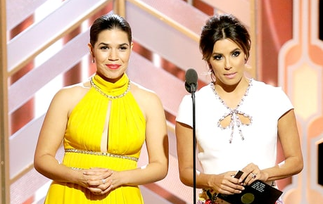 Presenters America Ferrera and Eva Longoria