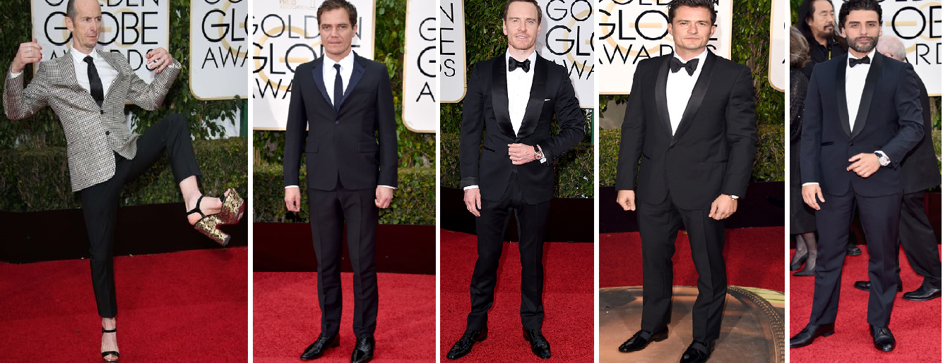 Denis O'Hare surprised everyone with his red carpet antics, Michael Shannon, Michael Fassbender, Orlando Bloom and Oscar Issacs were also present in fine style