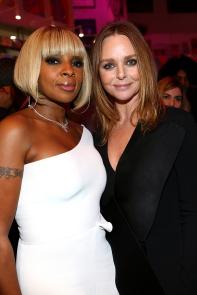 Mary J Blige and Stella McCartney