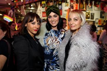 Rashida Jones, Katy Perry and Nicole Richie