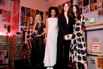 Mandatory Credit: Photo by Katie Jones/WWD/REX/Shutterstock (5540318ge) Models during the presentation Stella McCartney 2016 Fall Presentation party, Los Angeles, America - 12 Jan 2016